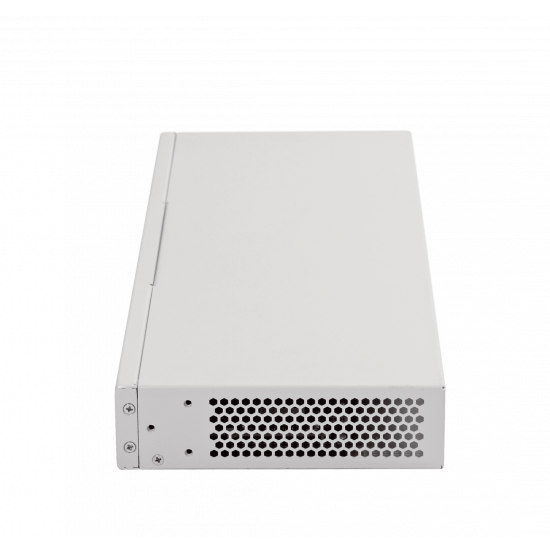 Ethernet-switch MES2308P, 8 ports 10/100/1000Base-T with support PoE+ and 2 ports 10/100/1000Base-T, 2 ports 1000Base-X (SFP), 220V AC